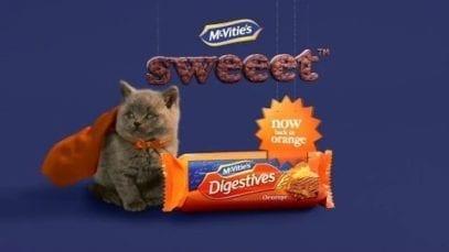 McVitie's Chocolate Orange Digestives Sweeet