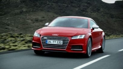 Audi TTS: Leap of faith