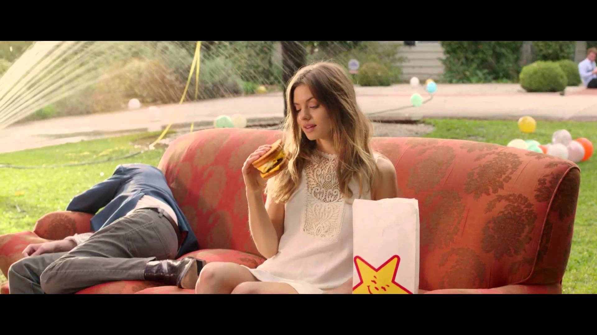 carl s jr commercial Carl's jr is back with another sexy commercial this time, samantha hoopes celebrates the most american thickburger in her own patriotic way — by wearing an american flag bikini.