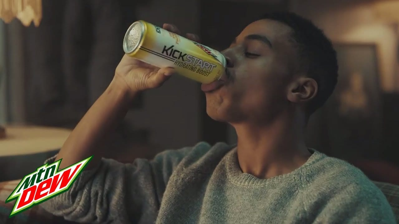 Mountain Dew:  It All Starts with a Kick