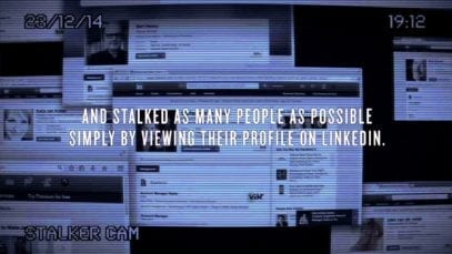 Vier: Stalker on LinkedIn