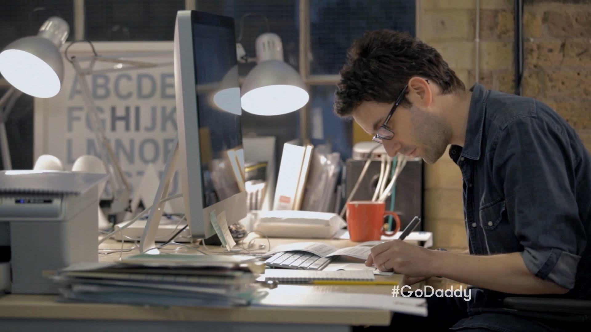 GoDaddy: Working – Big Game Commercial