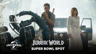 Universal Pictures: Jurassic World – Super Bowl