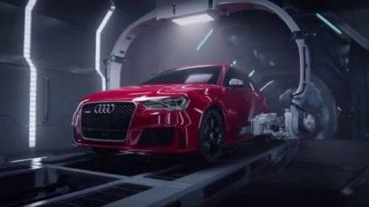 "Audi: RS 3 ""Birth"""