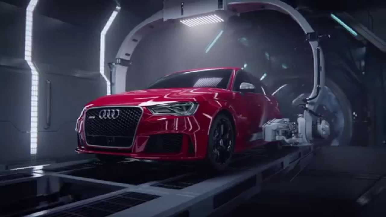 Audi RS Birth DAILY COMMERCIALS - Audi commercial