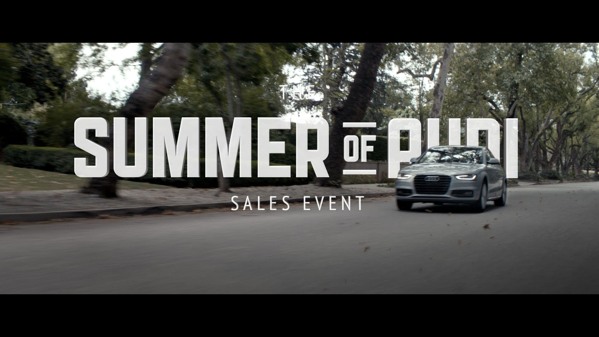 Audi: Summer Preview
