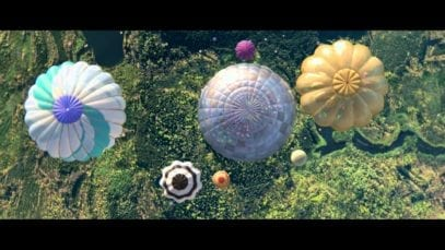 Perrier: Hot Air Balloons