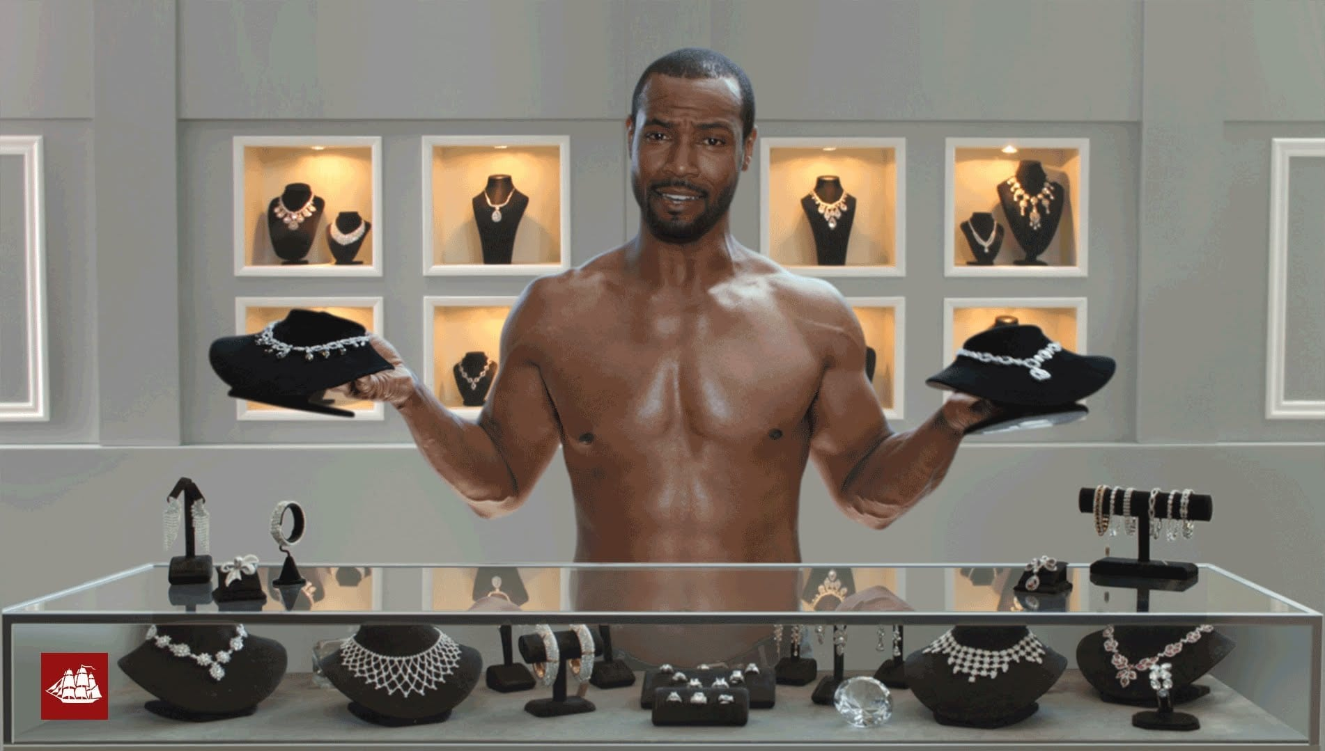 """commercial one old spice the This is old spice's first-ever commercial on the grammys, and it made sense to have a splashy debut """"in general, we're always trying to create culture rather than follow,"""" says miletic."""