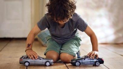 Mercedes-Benz: The uncrashable Toy Cars