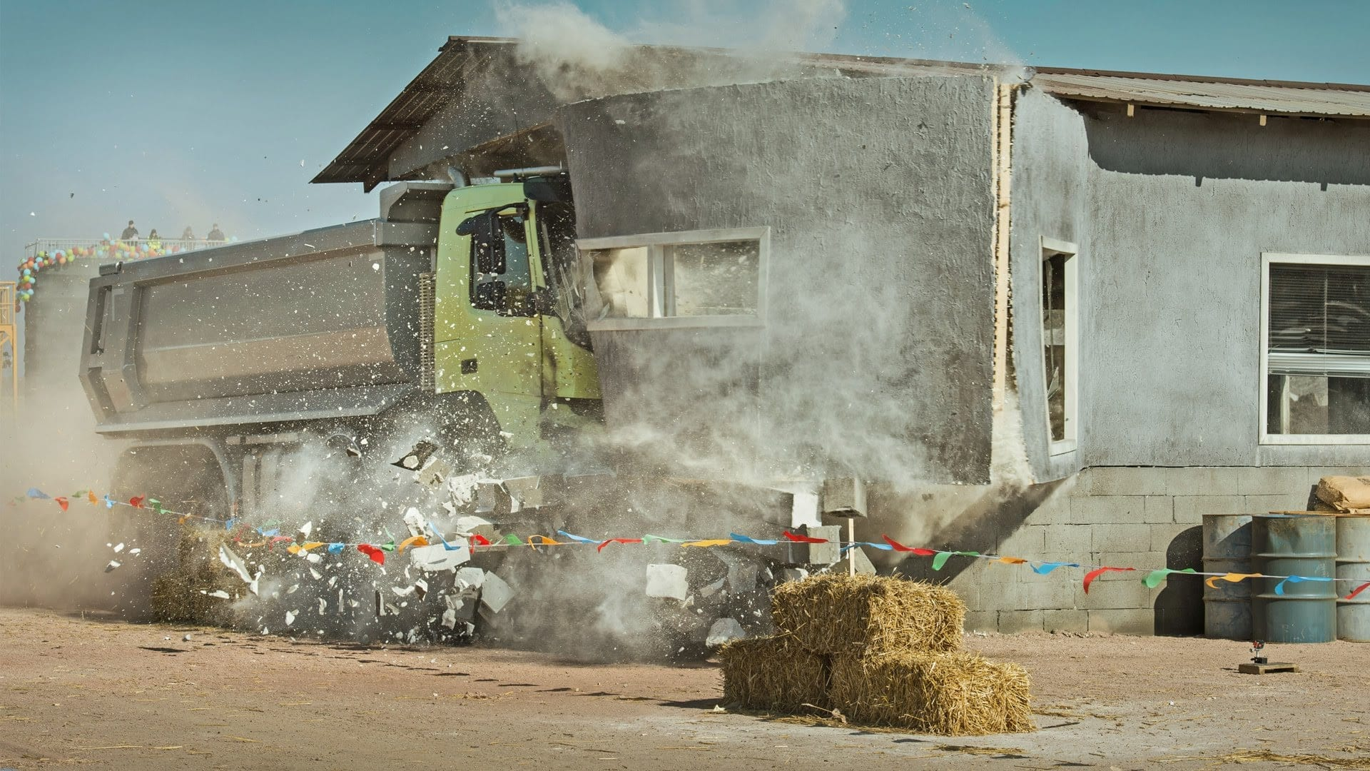 Volvo Trucks: the little girl with a remote control