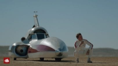 Old Spice: Legendary Man – Rocket Car