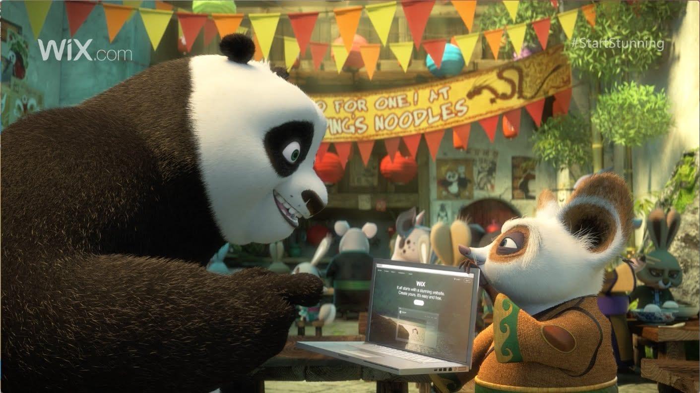 wix com  kung-fu panda