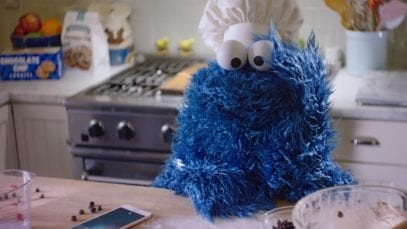 Apple: Cookie Monster