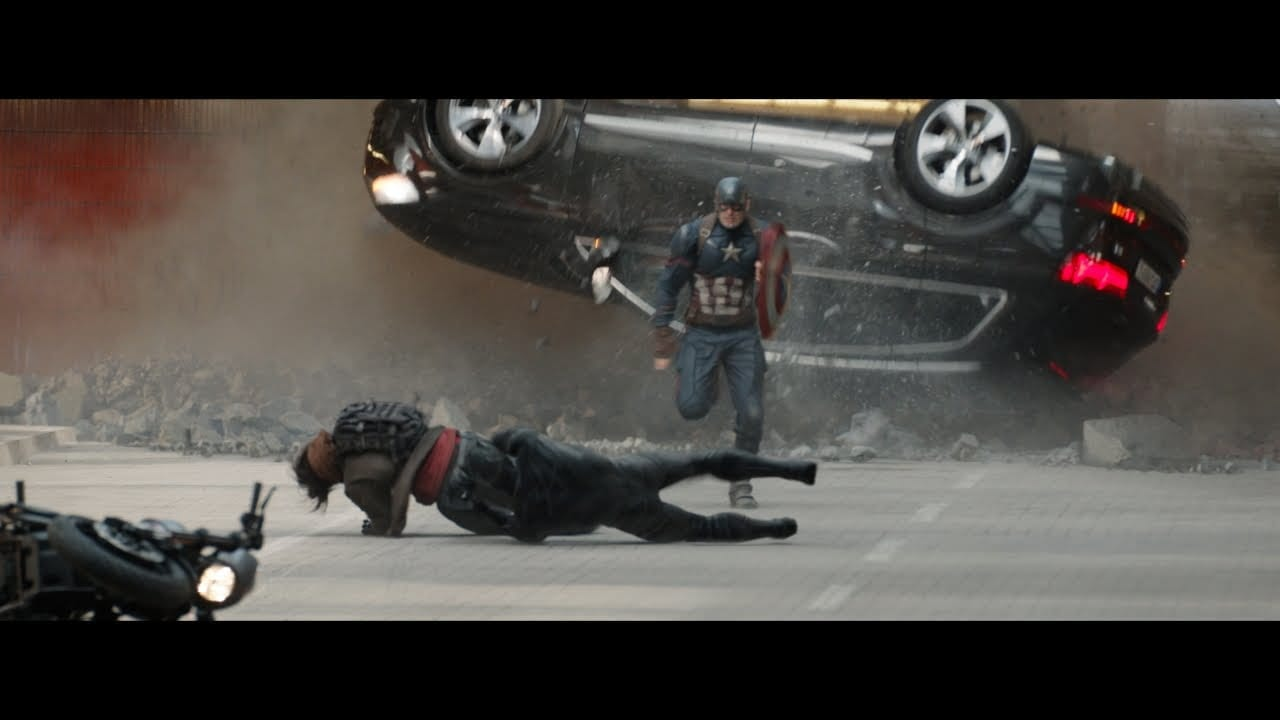 Audi – Captain America and Black Panther: The Chase