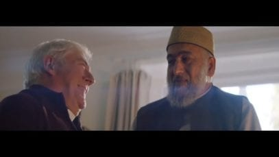 Amazon: A Priest and Imam meet for a cup of tea