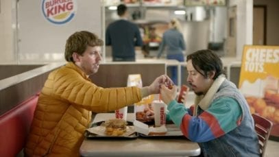 BURGER KING: CHEESY TOTS Lunch