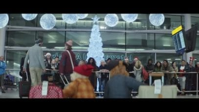 Heathrow Airport: Coming Home for Christmas