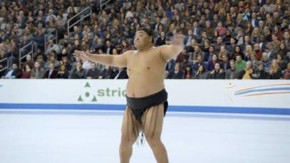 GEICO: Skating Sumo Wrestler