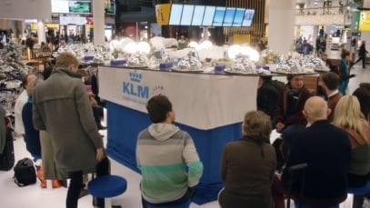 KLM: Bonding Christmas Buffet