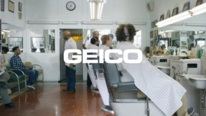 GEICO: Barber Shop featuring Tiki Barber