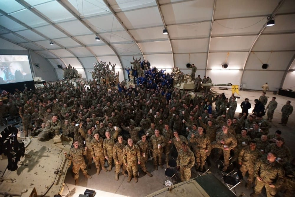 OPERATION BETTER: HYUNDAI SURPRISED U.S. TROOPS OVERSEAS BY VIRTUALLY REUNITING THEM WITH THEIR FAMILIES AT SUPER BOWL LI