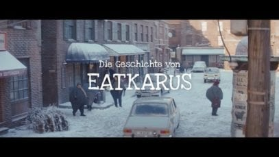 EDEKA: Eatkarus learns to fly