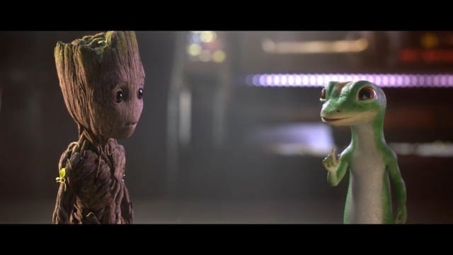 GEICO: Groot and Gecko Team Up
