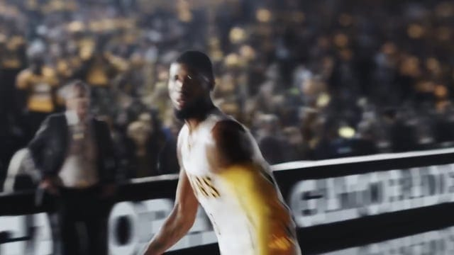 Gatorade: Paul George's Smooth Finish