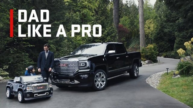 GMC: Dad Like A Pro