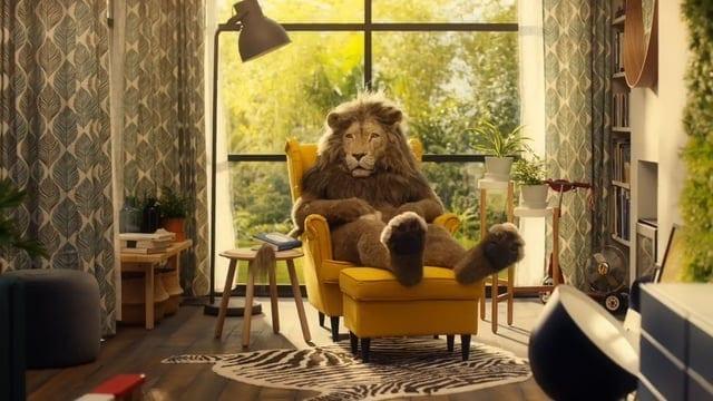 IKEA: Lion Man