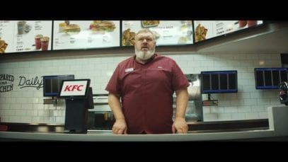 KFC – Lunchtime is coming…