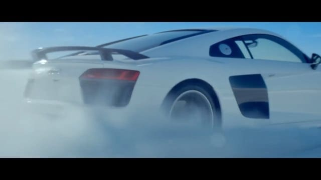 Audi R Snow DAILY COMMERCIALS - Audi r8 commercial