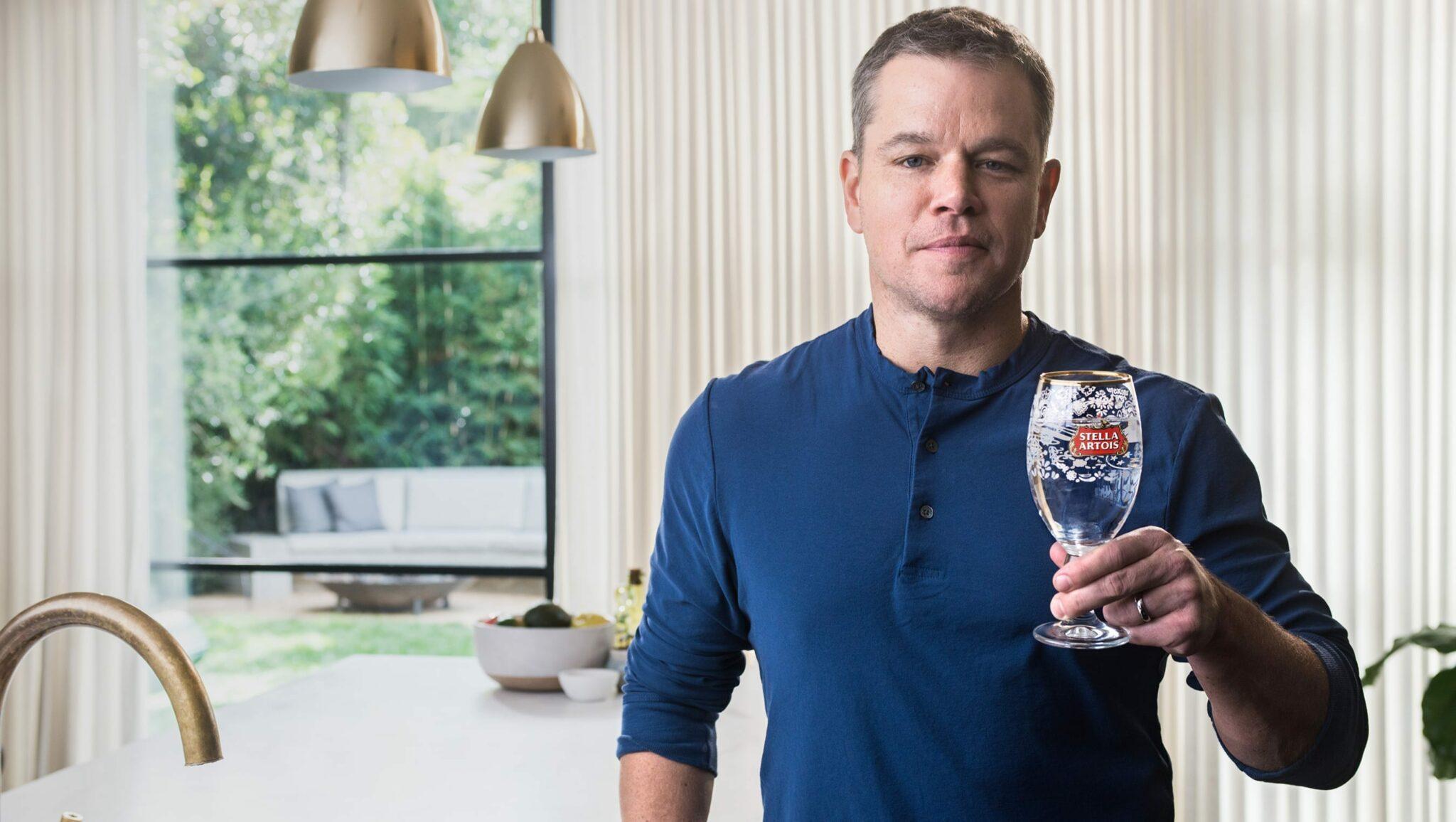 Stella Artois: Taps with Matt Damon - Super Bowl LII