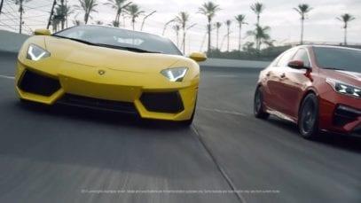 Kia: Kia Forte Versus Lamborghini Aventador