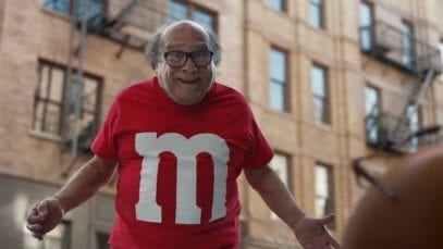 M&M's: Human featuring Danny DeVito – 2018 Super Bowl Commercial