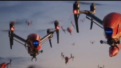 Budweiser-drone