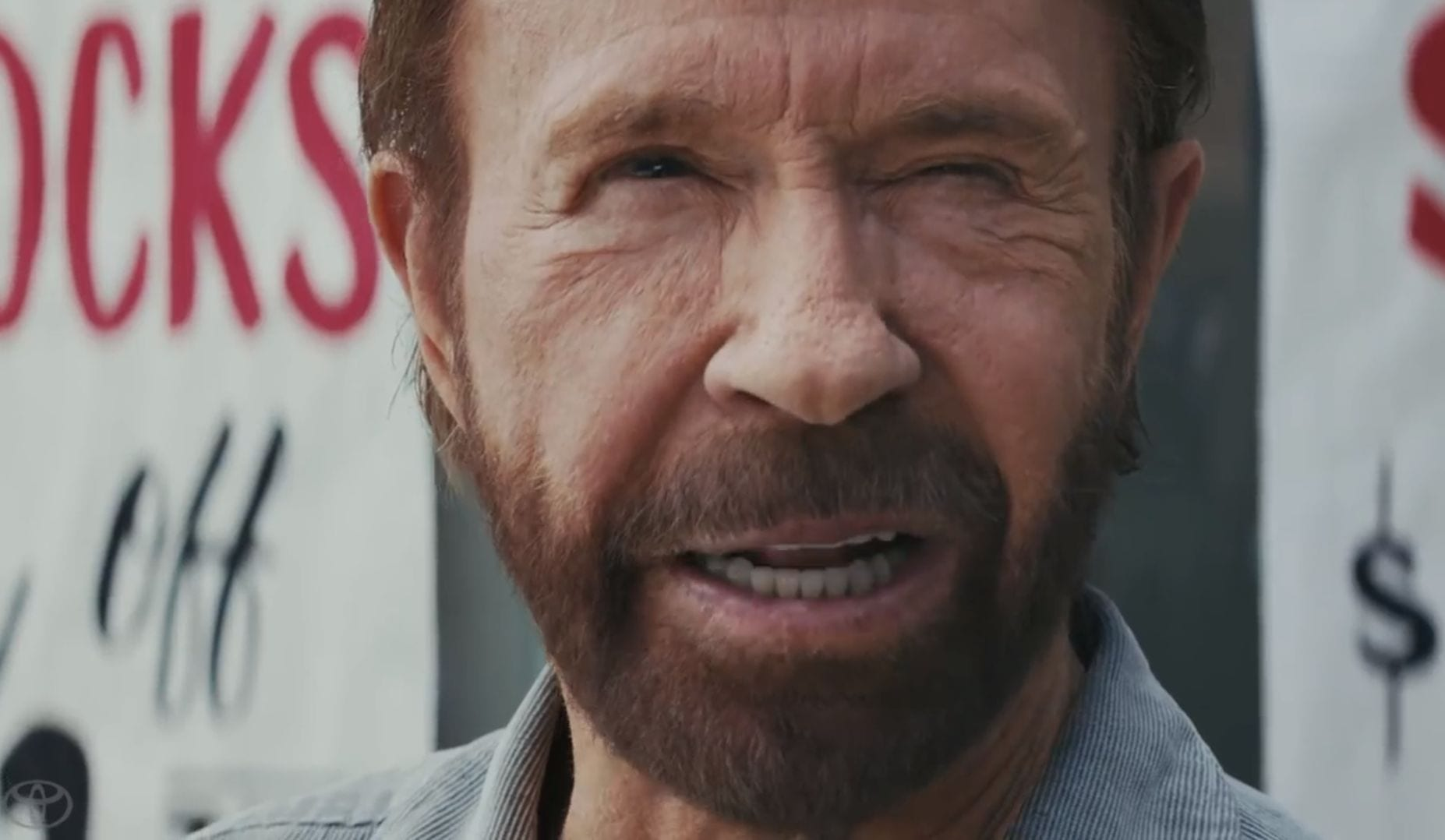 Toyota Tough As Chuck Featuring Chuck Norris Daily