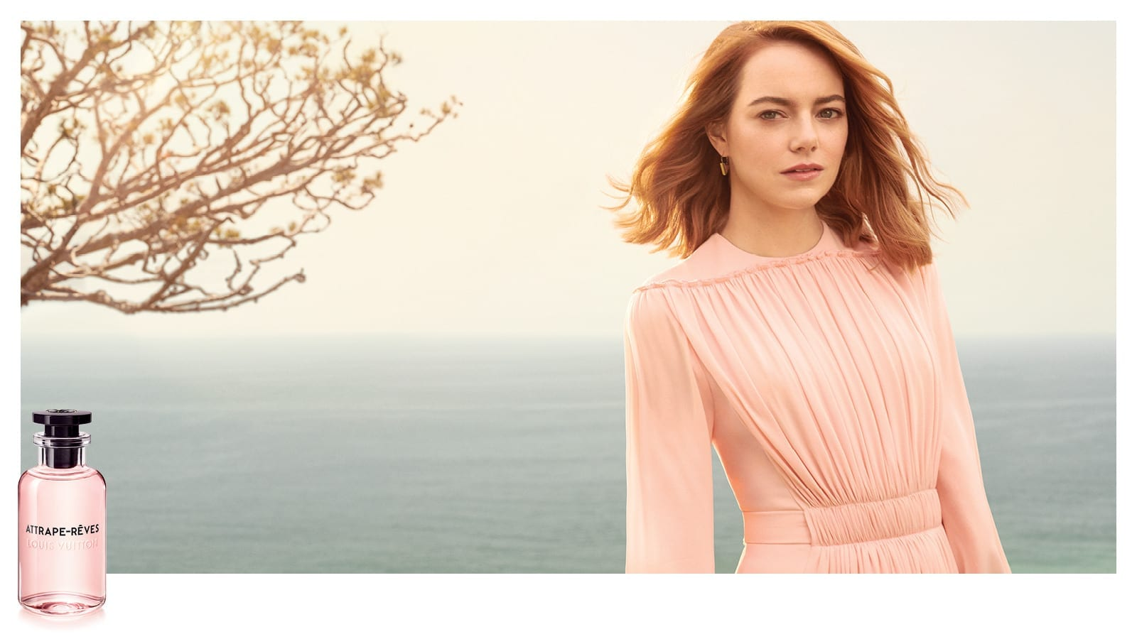Les Parfums Louis Vuitton, the new campaign starring Emma Stone
