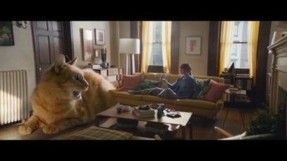 apple TV commercial big cat