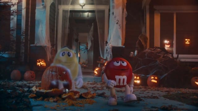 M&M Commercial Of Halloween 2020 M&M's: Ghosted & Eaten   Halloween commercials   DAILY COMMERCIALS