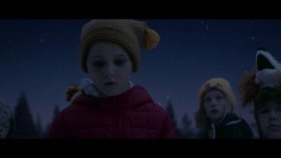 Lidl advert 2018 sad Christmas fairytale
