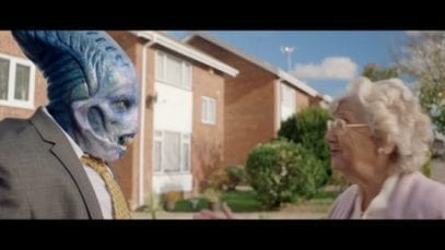 Alien shows us how learning a new language with Babbel advert