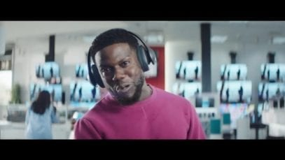 JPMorgan Chase: adverts featuring Kevin Hart