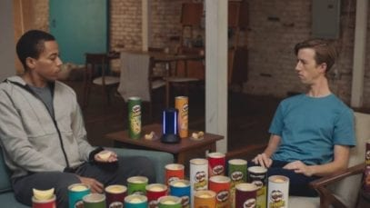 Pringles: Sad Device – Super Bowl 2019 TV Commercial