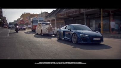 Audi: A Pleasure To Follow – The New Audi R8