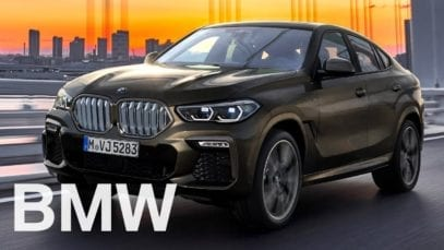 The all-new BMW X6  ADVERT