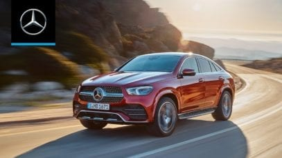 Mercedes-Benz GLE Coupe 2020 World Premiere