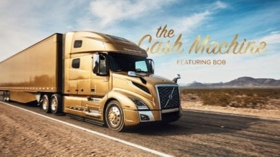 Volvo Trucks: The Cash Machine featuring Bob