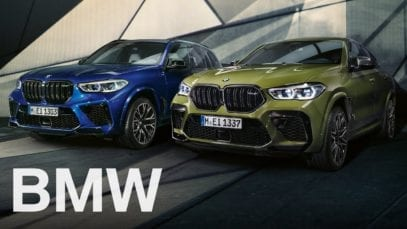 BMW: The all-new BMW X5 M and X6 M