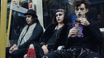 goths advert subway